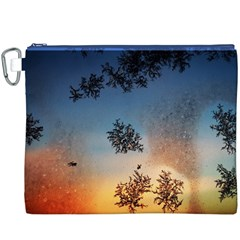 Hardest Frost Winter Cold Frozen Canvas Cosmetic Bag (xxxl)