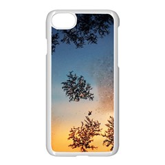 Hardest Frost Winter Cold Frozen Apple Iphone 7 Seamless Case (white)