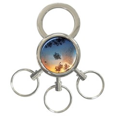 Hardest Frost Winter Cold Frozen 3 Ring Key Chains