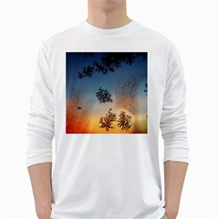 Hardest Frost Winter Cold Frozen White Long Sleeve T Shirts