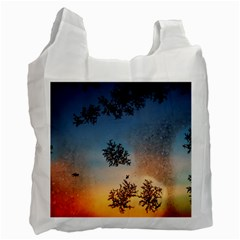 Hardest Frost Winter Cold Frozen Recycle Bag (two Side)