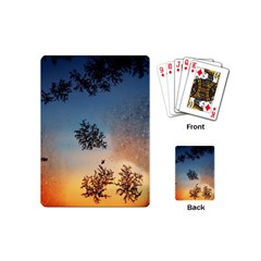 Hardest Frost Winter Cold Frozen Playing Cards (mini)