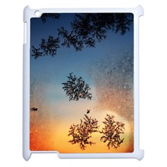 Hardest Frost Winter Cold Frozen Apple Ipad 2 Case (white)