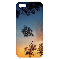 Hardest Frost Winter Cold Frozen Apple Iphone 5 Hardshell Case