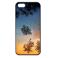 Hardest Frost Winter Cold Frozen Apple Iphone 5 Seamless Case (black)