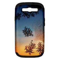 Hardest Frost Winter Cold Frozen Samsung Galaxy S Iii Hardshell Case (pc+silicone)