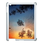 Hardest Frost Winter Cold Frozen Apple iPad 3/4 Case (White) Front