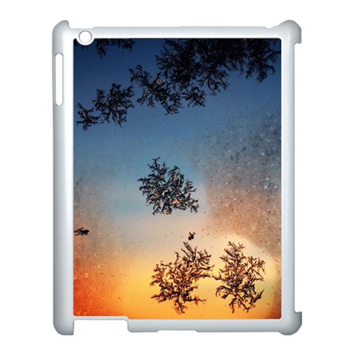 Hardest Frost Winter Cold Frozen Apple iPad 3/4 Case (White)