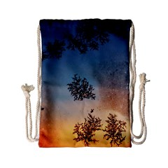Hardest Frost Winter Cold Frozen Drawstring Bag (small)