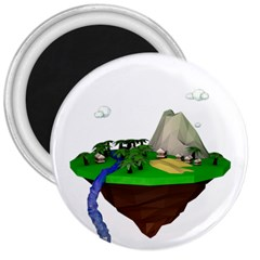 Low Poly 3d Render Polygon 3  Magnets