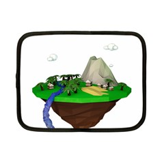 Low Poly 3d Render Polygon Netbook Case (small)