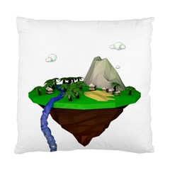 Low Poly 3d Render Polygon Standard Cushion Case (two Sides)