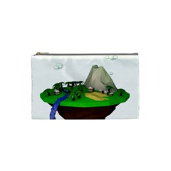 Low Poly 3d Render Polygon Cosmetic Bag (Small)