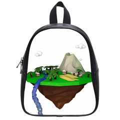 Low Poly 3d Render Polygon School Bags (small)