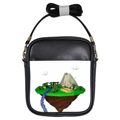 Low Poly 3d Render Polygon Girls Sling Bags