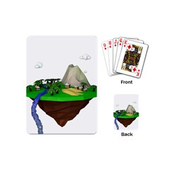 Low Poly 3d Render Polygon Playing Cards (mini)