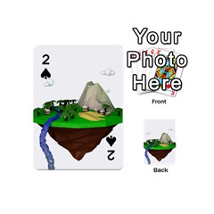 Low Poly 3d Render Polygon Playing Cards 54 (mini)