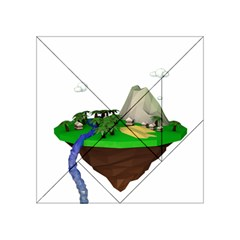 Low Poly 3d Render Polygon Acrylic Tangram Puzzle (4  X 4 )