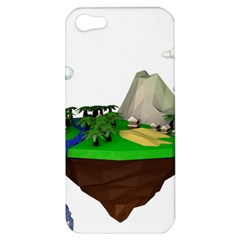 Low Poly 3d Render Polygon Apple Iphone 5 Hardshell Case