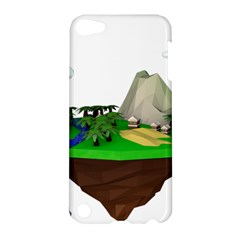 Low Poly 3d Render Polygon Apple Ipod Touch 5 Hardshell Case