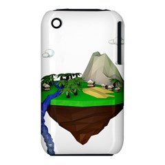 Low Poly 3d Render Polygon Iphone 3s/3gs