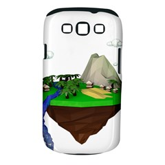 Low Poly 3d Render Polygon Samsung Galaxy S Iii Classic Hardshell Case (pc+silicone)