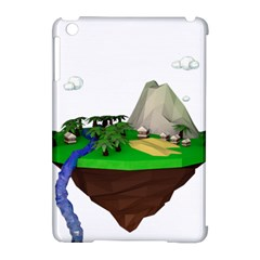 Low Poly 3d Render Polygon Apple Ipad Mini Hardshell Case (compatible With Smart Cover)