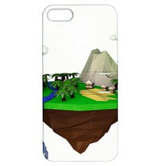 Low Poly 3d Render Polygon Apple Iphone 5 Hardshell Case With Stand