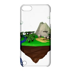 Low Poly 3d Render Polygon Apple Ipod Touch 5 Hardshell Case With Stand