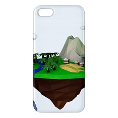 Low Poly 3d Render Polygon Apple Iphone 5 Premium Hardshell Case