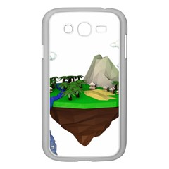 Low Poly 3d Render Polygon Samsung Galaxy Grand Duos I9082 Case (white)