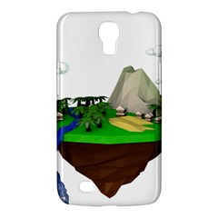 Low Poly 3d Render Polygon Samsung Galaxy Mega 6 3  I9200 Hardshell Case
