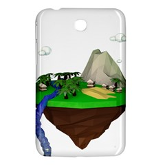 Low Poly 3d Render Polygon Samsung Galaxy Tab 3 (7 ) P3200 Hardshell Case