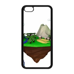 Low Poly 3d Render Polygon Apple Iphone 5c Seamless Case (black)