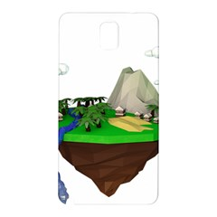 Low Poly 3d Render Polygon Samsung Galaxy Note 3 N9005 Hardshell Back Case