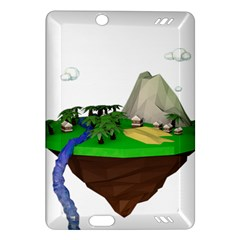 Low Poly 3d Render Polygon Amazon Kindle Fire Hd (2013) Hardshell Case