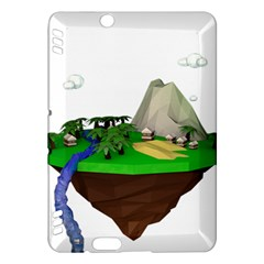 Low Poly 3d Render Polygon Kindle Fire Hdx Hardshell Case