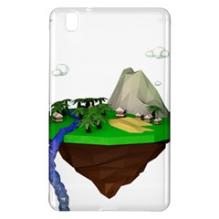 Low Poly 3d Render Polygon Samsung Galaxy Tab Pro 8 4 Hardshell Case