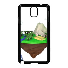 Low Poly 3d Render Polygon Samsung Galaxy Note 3 Neo Hardshell Case (black)