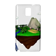 Low Poly 3d Render Polygon Samsung Galaxy Note 4 Hardshell Case