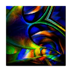 Light Texture Abstract Background Tile Coasters