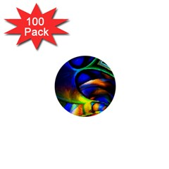 Light Texture Abstract Background 1  Mini Buttons (100 Pack)
