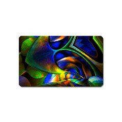 Light Texture Abstract Background Magnet (name Card)