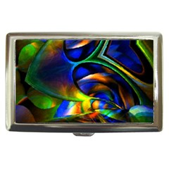 Light Texture Abstract Background Cigarette Money Cases