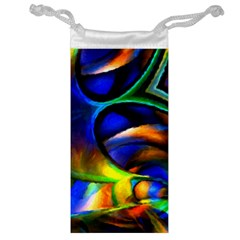 Light Texture Abstract Background Jewelry Bag