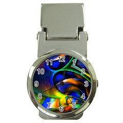 Light Texture Abstract Background Money Clip Watches
