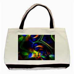 Light Texture Abstract Background Basic Tote Bag
