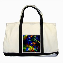 Light Texture Abstract Background Two Tone Tote Bag