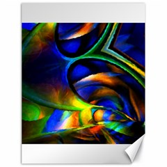Light Texture Abstract Background Canvas 18  X 24