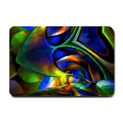 Light Texture Abstract Background Small Doormat